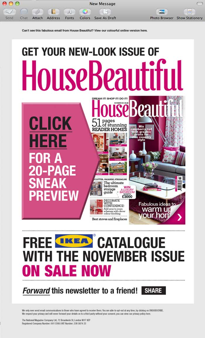 House Beautiful Social Media
