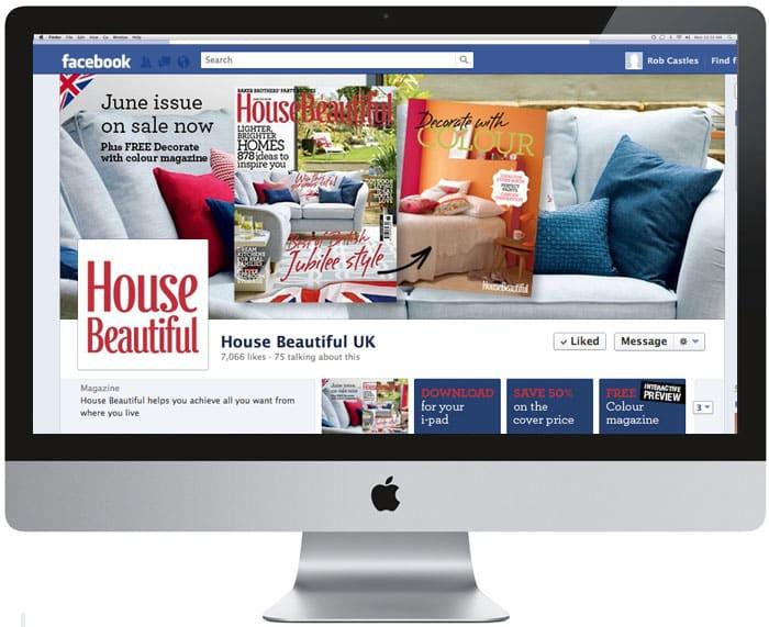 Beautiful homes facebook marketing idea for Home beautiful facebook