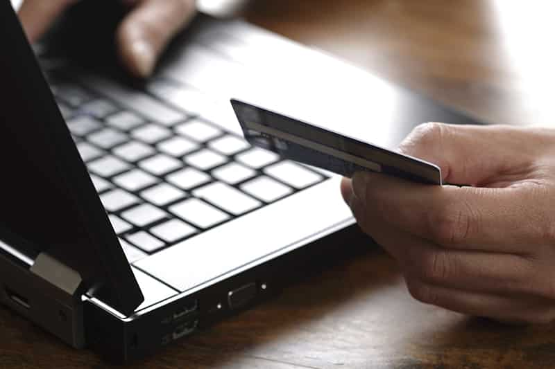 paying for magazine with credit card