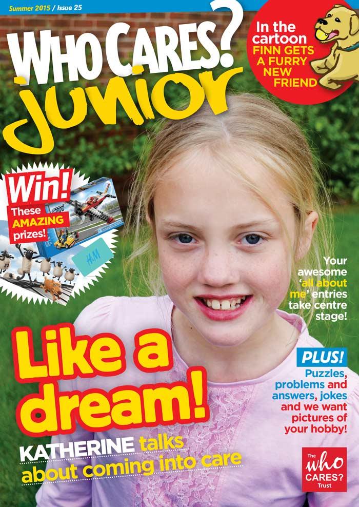 Who Cares Junior Magazine