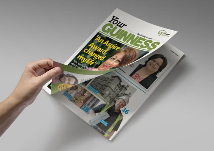 Your Guinness magazine proves a hit!