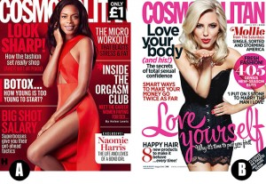 The new Cosmopolitan: but which is better?