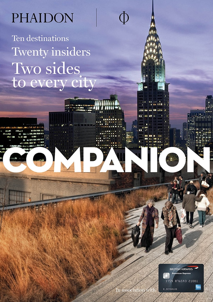Companion magazine cover New York