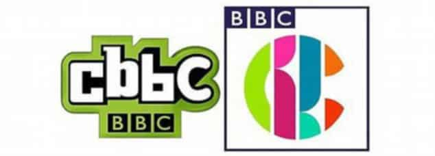 old and new cbbc logos together