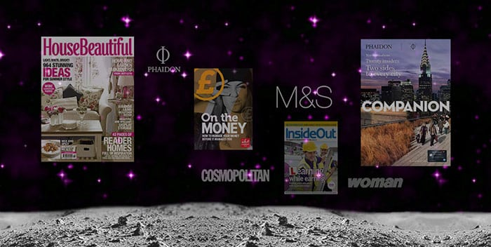 Magazine designer on House Beautiful, M&S, Cosmopolitan