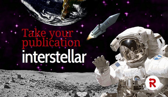 Take your publication interstellar with Red Onion Design
