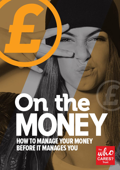 Money themed booklet for young people