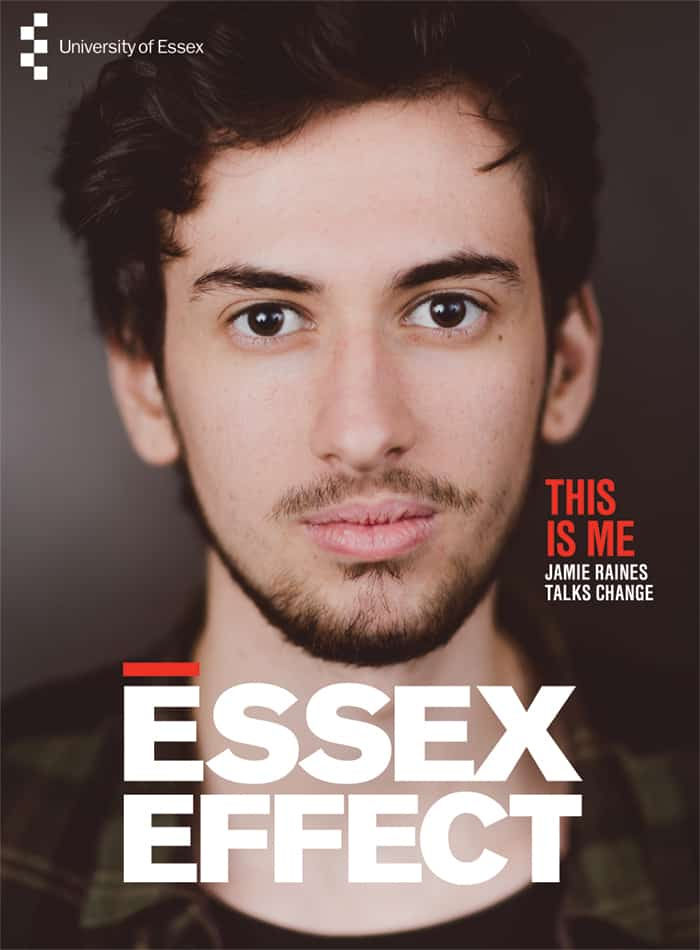 University of Essex alumni magazine and layouts