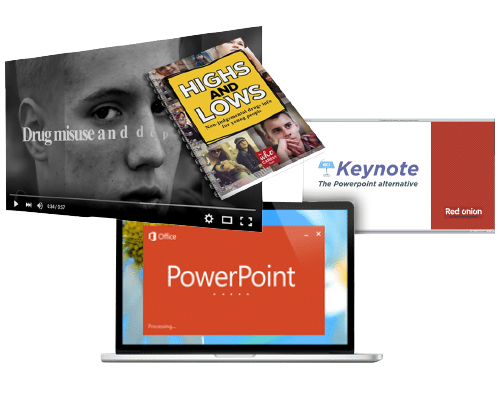 powerpoint and keynote collection of images