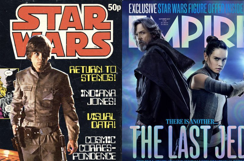 40 years of Star Wars magazine covers