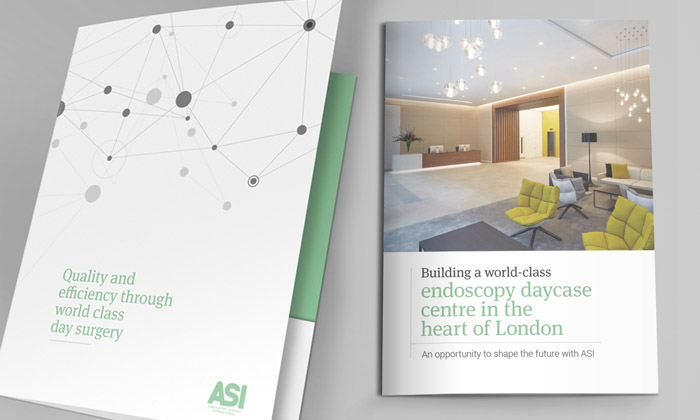 ASI brochure and folder