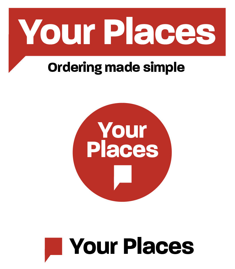 Red Your Places logo on white background