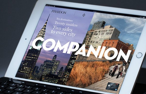 Phaidon Companion digital magazine layouts