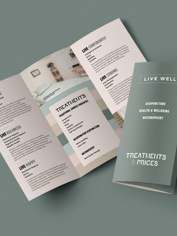 Live Well Leaflets