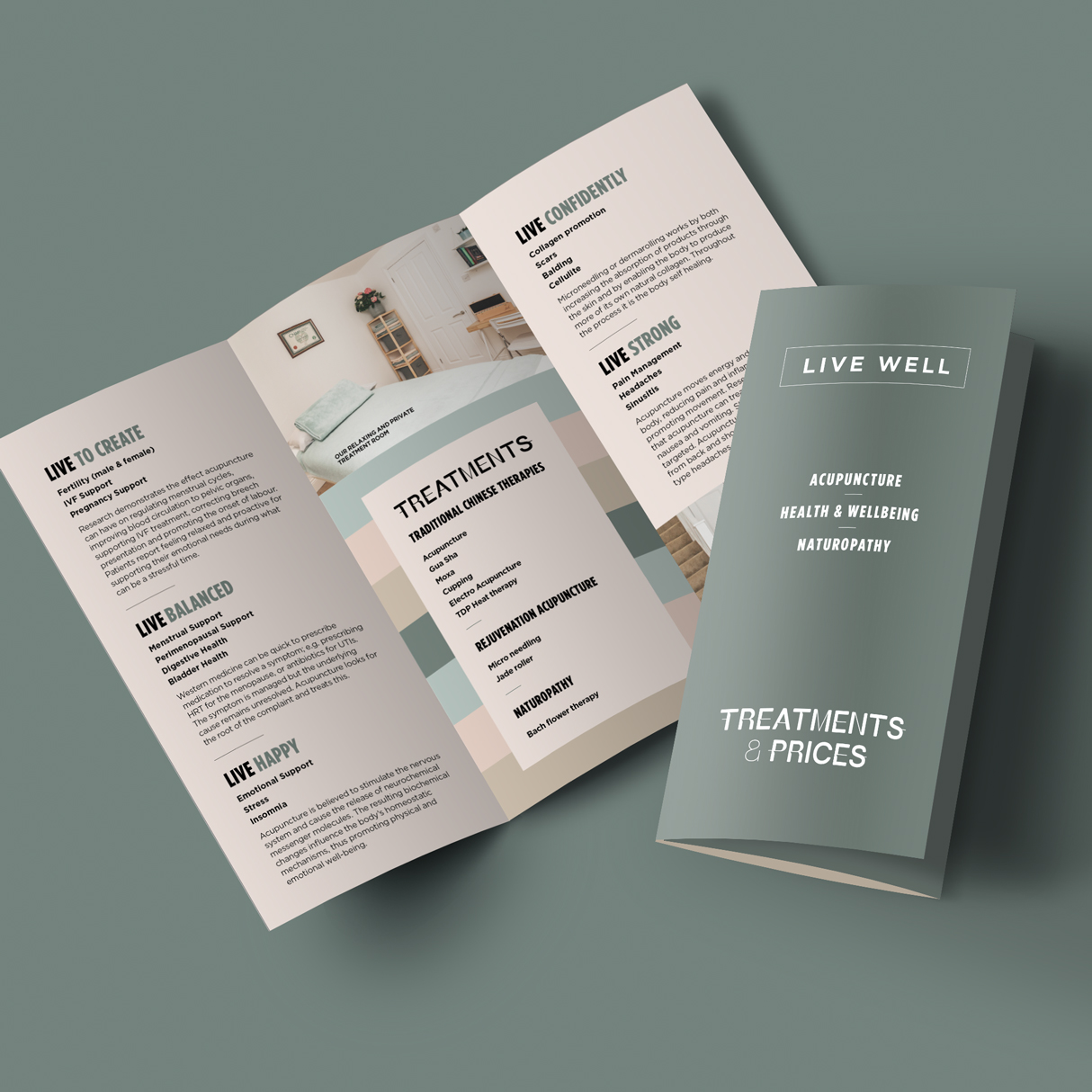 Live Well A4 Leaflet
