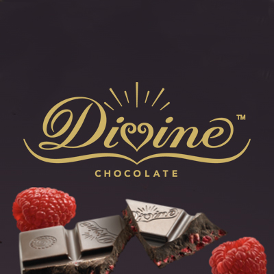 Divine Chocolate Data Viz and Brochure Design