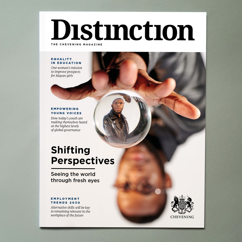 Chevening Distinction Magazine Cover