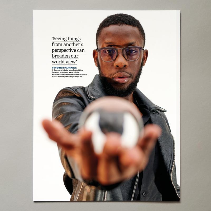 Chevening Magazine Back Cover